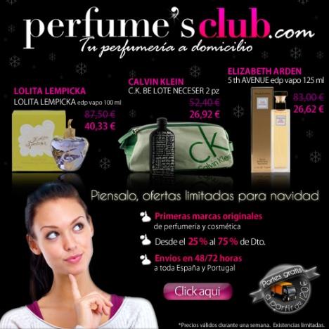 Promoción Perfume's Club - MundoOfertas