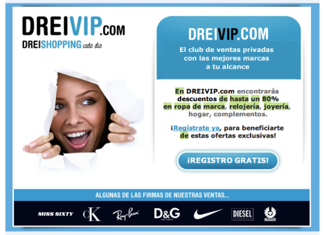 Descuentos: Dreivip.com