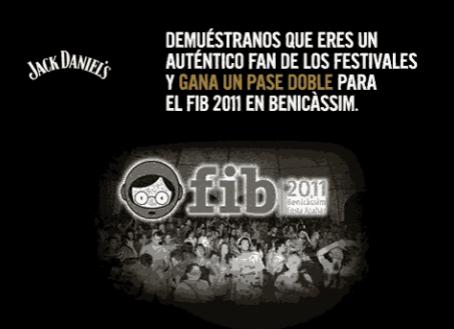 Consigue con Jack Daniel's entradas gratis para el Festival de Benicàssim