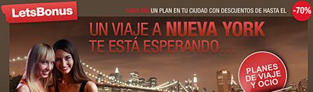 ¿Te gustaría viajar a NUEVA YORK? participa con Letsbonus