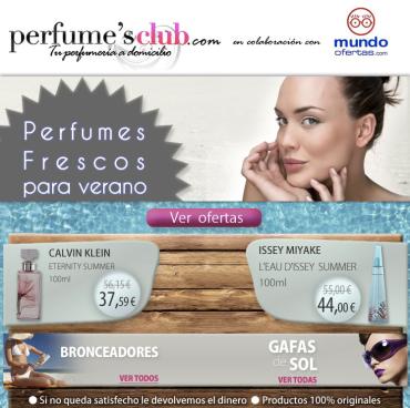 Perfumes Club: Ofertas de verano