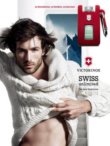 Consigue tu muestra gratis de Swiss Unlimited, la colonia de Victorinox