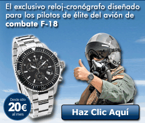 Llévate el auténtico reloj Air Fighter por sólo 20€ al mes