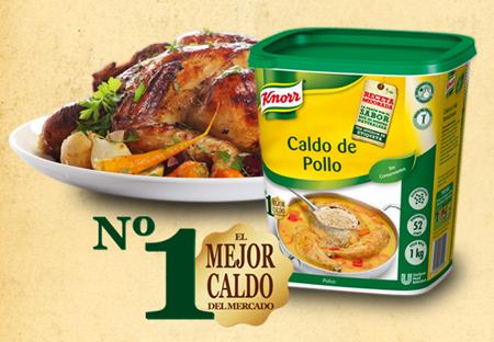 Gratis caldo de pollo Knorr
