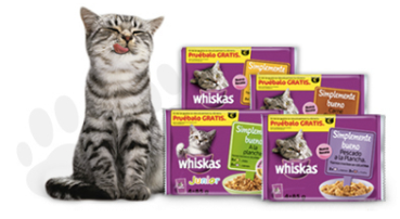 Prueba gratis lo último de Whiskas