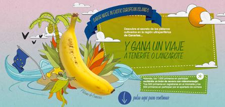 Consigue un viaje a Lanzarote o Tenerife con Plátano de Canarias