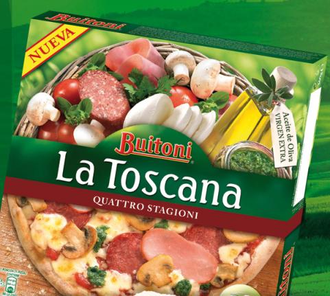 Prueba gratis pizza La Toscana de Buitoni