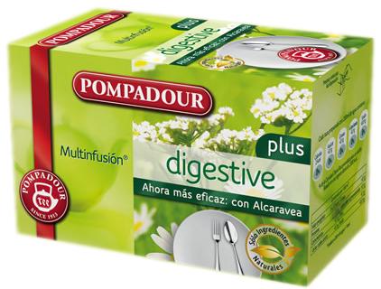 Prueba la infusión Pompadour Digestive Plus