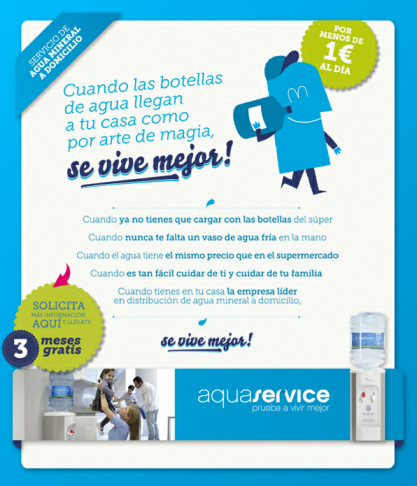 3 meses gratis con Viva Aquaservice