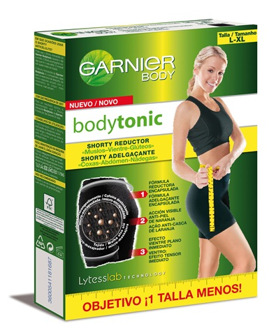 Prueba gratis Shorty Bodytonic reductor de Garnier