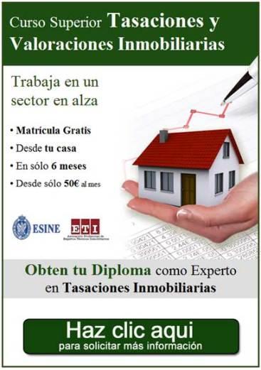 Curso de Tasaciones Inmobiliarias